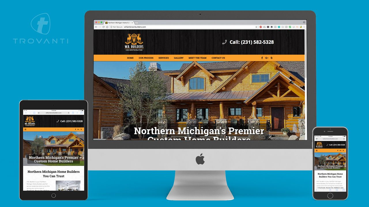 professional home builder web design company