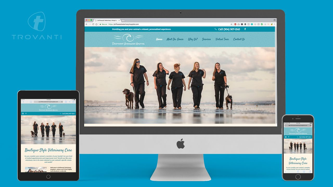 veterinarian website design company